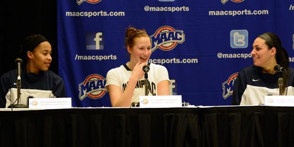 Quinnipiac women's basketball advances to MAAC semis