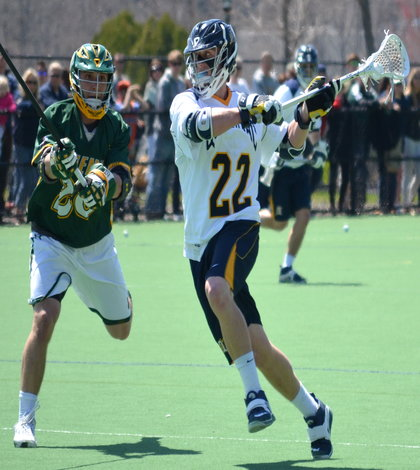 Men's lacrosse falls to Siena