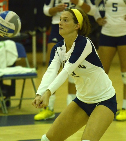 Volleyball loses to UMass Lowell in straight sets