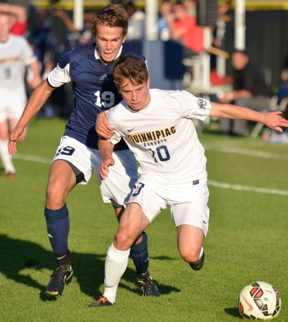 Carvalho's overtime goal lifts men's soccer past Yale