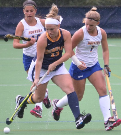 Allan's big day leads field hockey past Hofstra