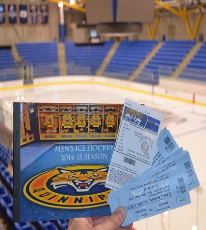 Men's ice hockey season ticket sales surge