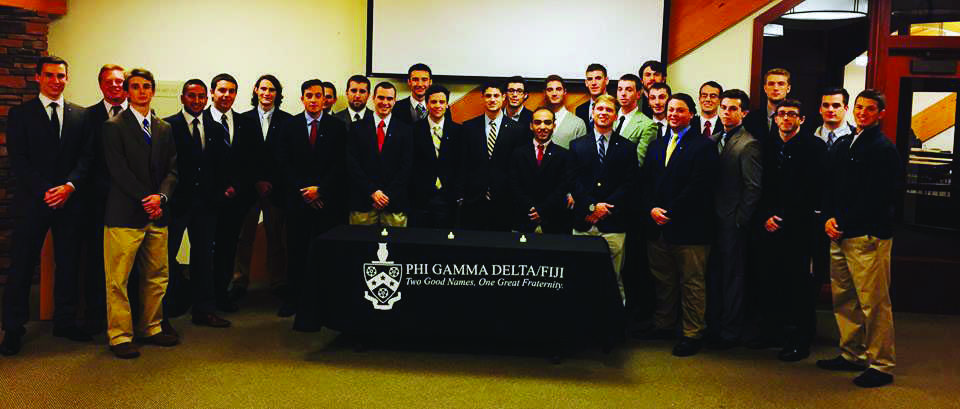 University welcomes new fraternity