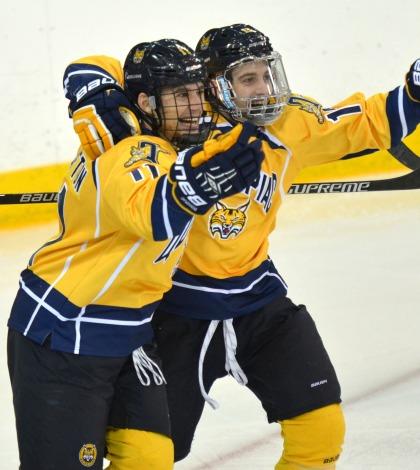 Men's ice hockey blanks No. 4 Colgate