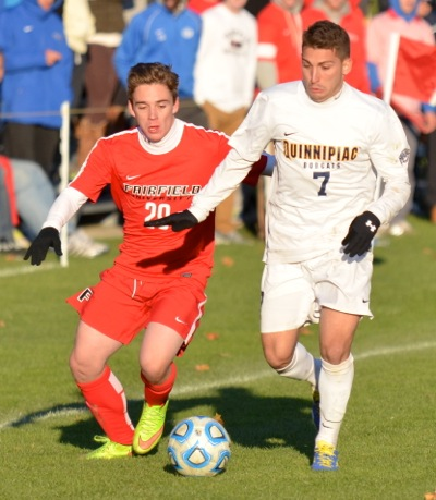 Fairfield tops men's soccer in MAAC Semifinals