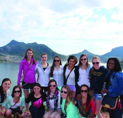 QU 301 trip inspires students to help Hamden