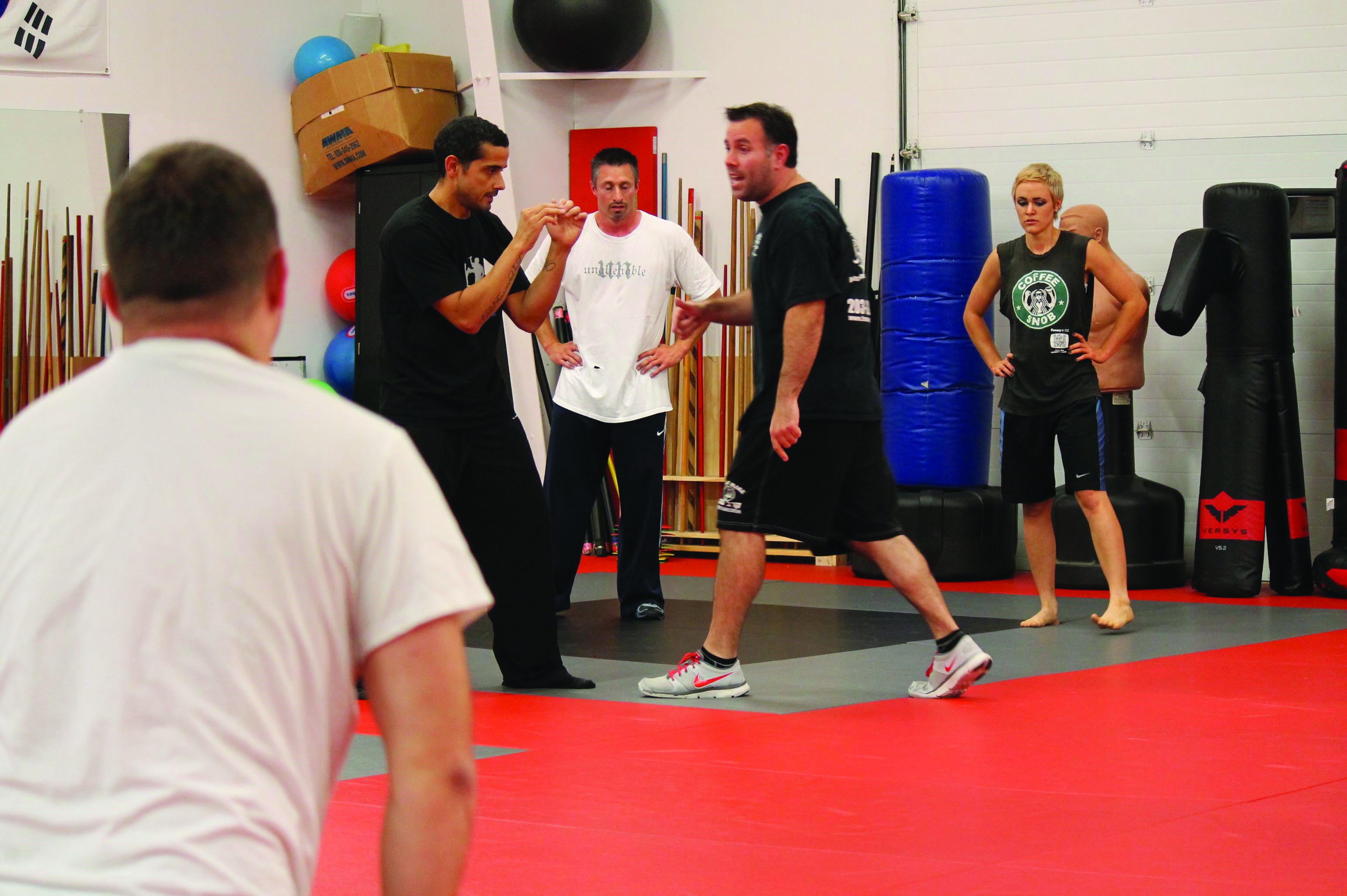 Five seniors organize self defense class