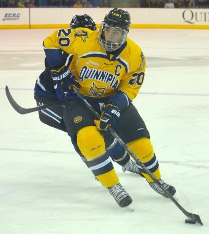 Men's ice hockey blanks Princeton