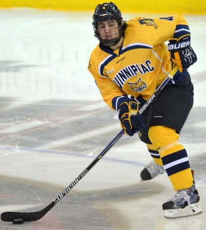 Men's ice hockey falls to Harvard