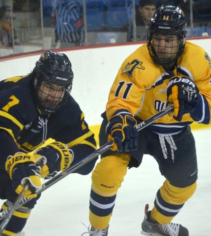 Merrimack completes weekend sweep of men's ice hockey