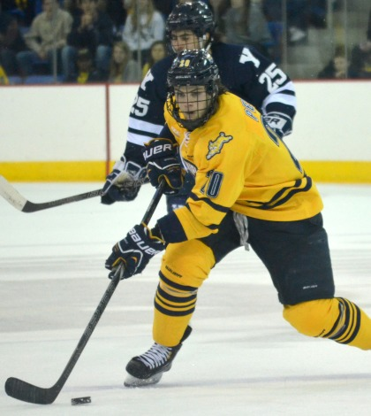 Men's ice hockey prepares for bout with Yale