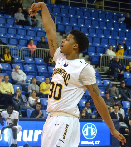 Ford Jr. propels men's basketball to conference win