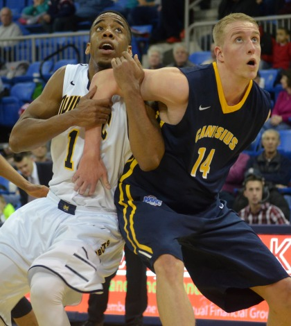 Canisius uses late comeback to down men's basketball