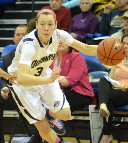 Women's basketball downs Rider