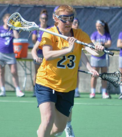 Niagara comes from behind to beat women's lacrosse