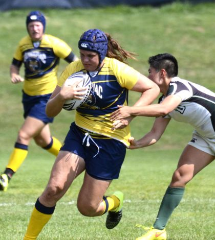 Women's rugby trounces Dartmouth