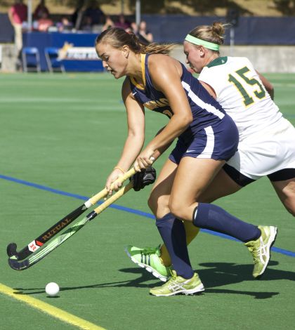 Belskie, field hockey tops Vermont