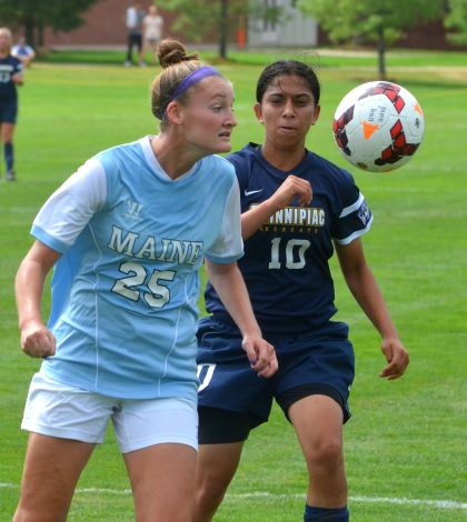 Fontaine lifts women's soccer over Maine