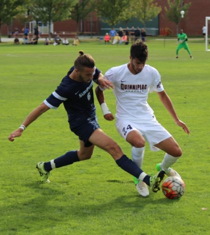 Saint Peter's downs men's soccer