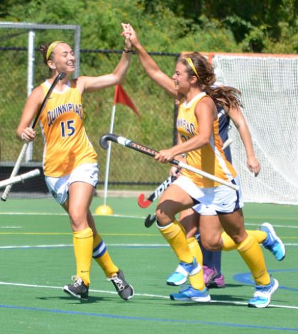 Field hockey get first win of the season against Yale