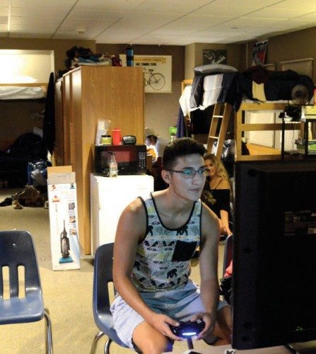 Freshmen forced to live in study rooms