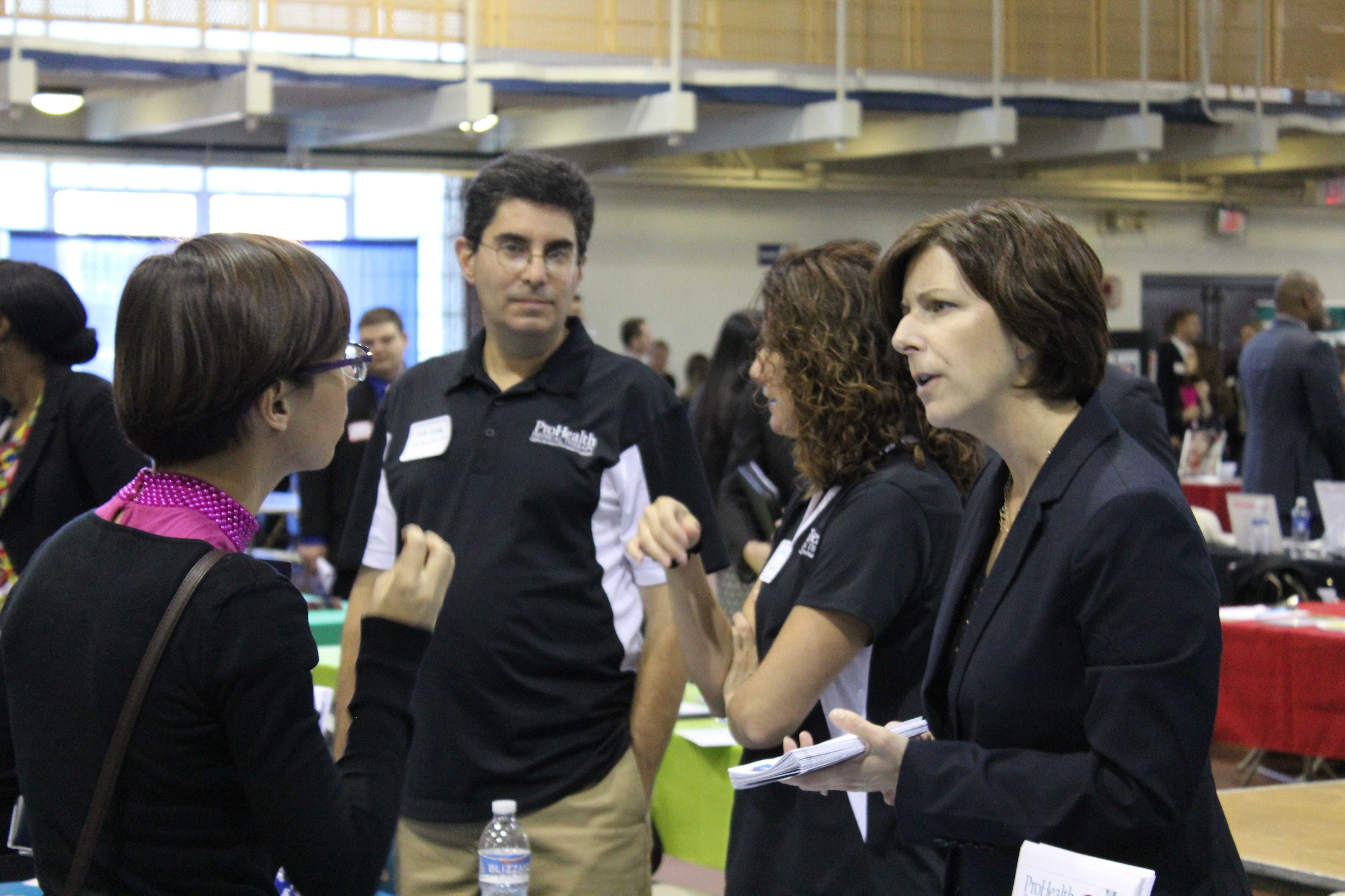 Students attend annual career fair