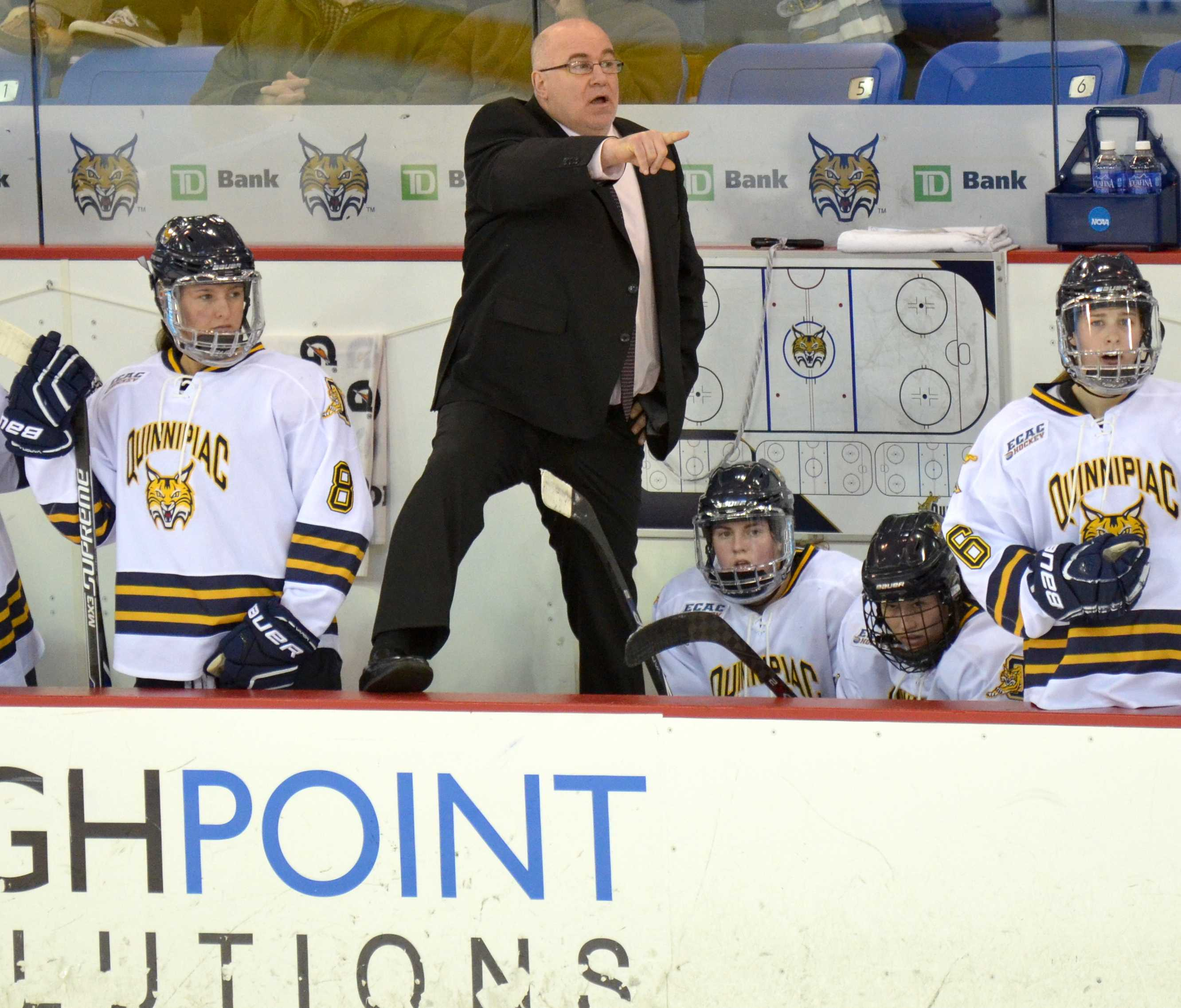 Former QU coach files lawsuit for $15,000
