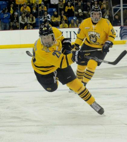 Men's ice hockey shuts out Maine