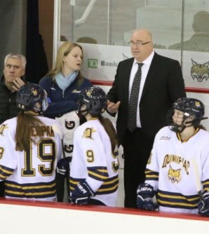 Former women's ice hockey coach sues university