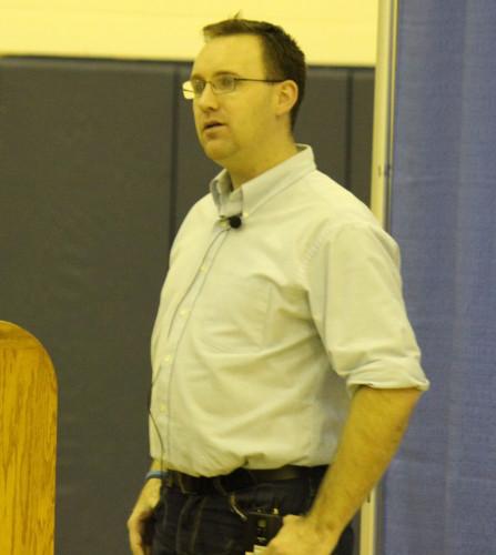 Scott Maloney inspires student athletes