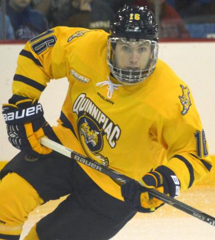 Quinnipiac men's ice hockey readies for weekend vs. Colgate, Cornell