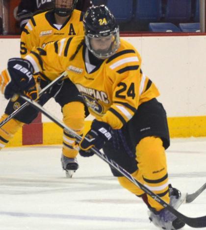 Women's hockey plays to tie vs. Colgate