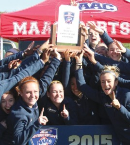 Cross country's teamwork leads to first MAAC Championship
