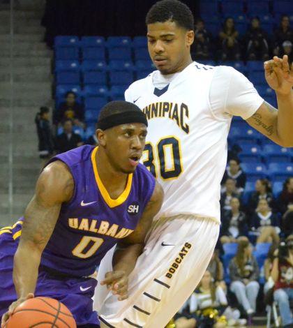 Men's basketball falls to Albany 58-54