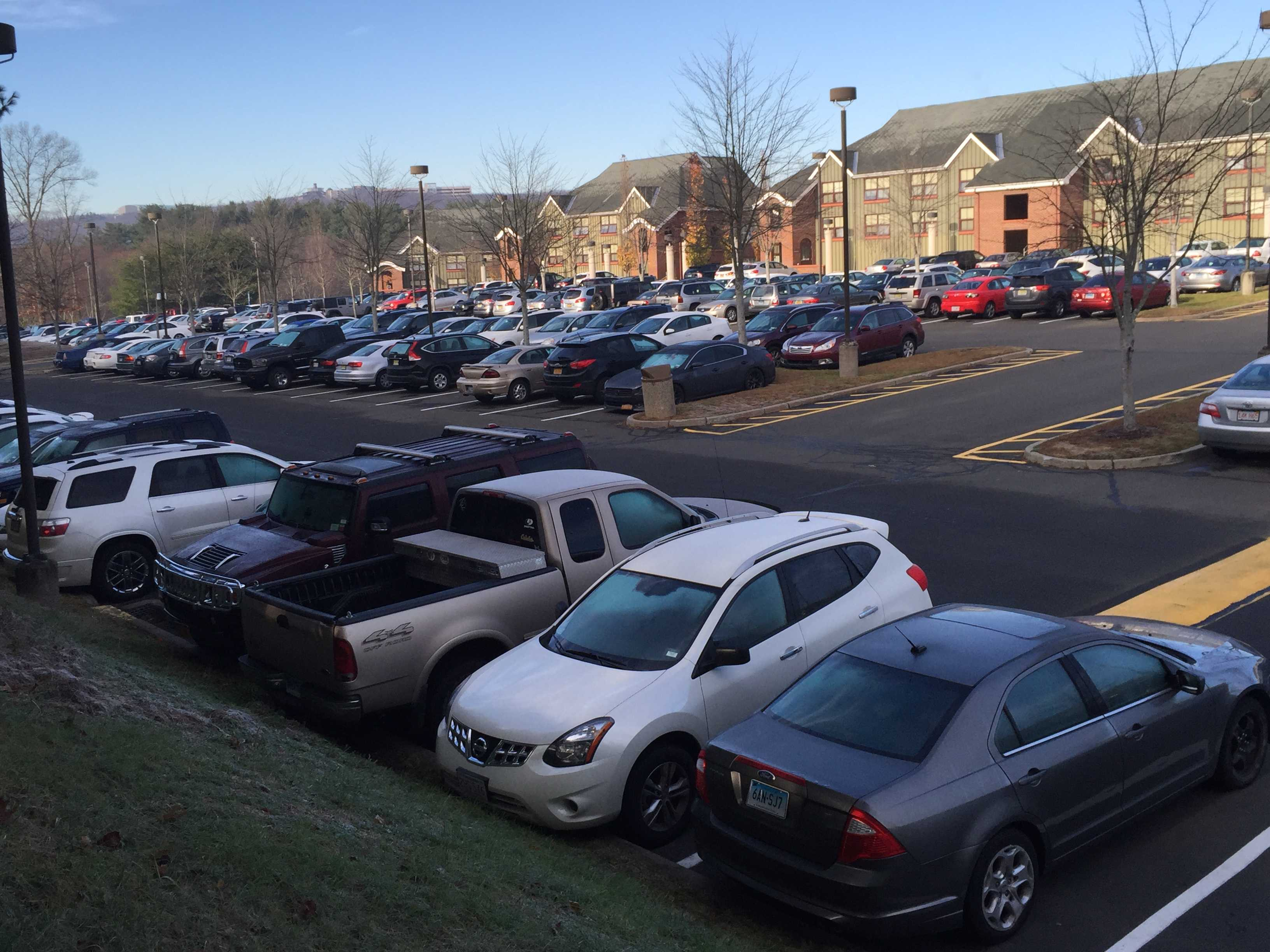 Hilltop lot parking problems increase