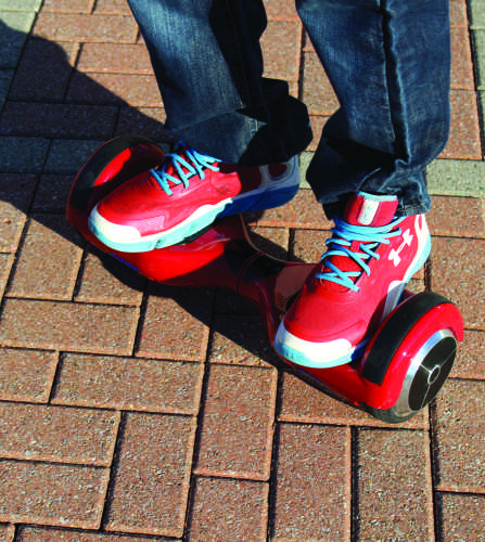 Hoverboards now banned at Quinnipiac