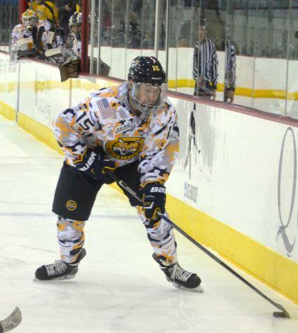 No. 1 men's ice hockey prepares for home weekend vs. Cornell, Colgate