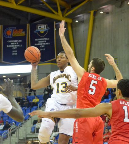 Men's basketball falls to Fairfield 84-80 in 2OT