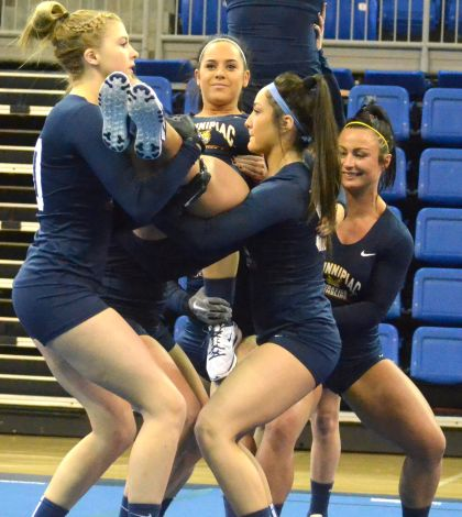 Acrobatics and Tumbling falls to Baylor in season opener