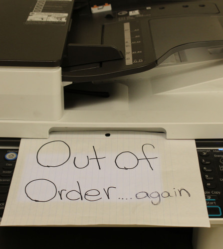 Wreck: These printers ain't loyal