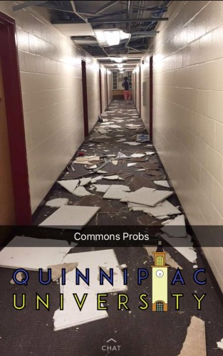 University to repair extensive damage to Commons, Complex