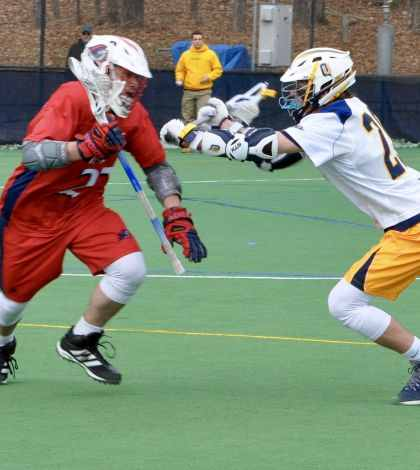 Men's lacrosse beats NJIT 9-7