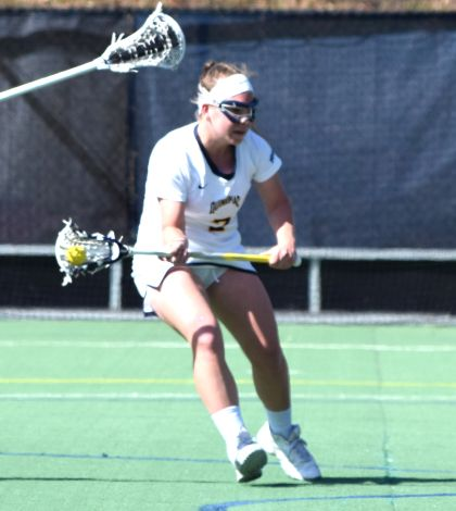 Women's lacrosse falls to CCSU 9-8 in 3OT
