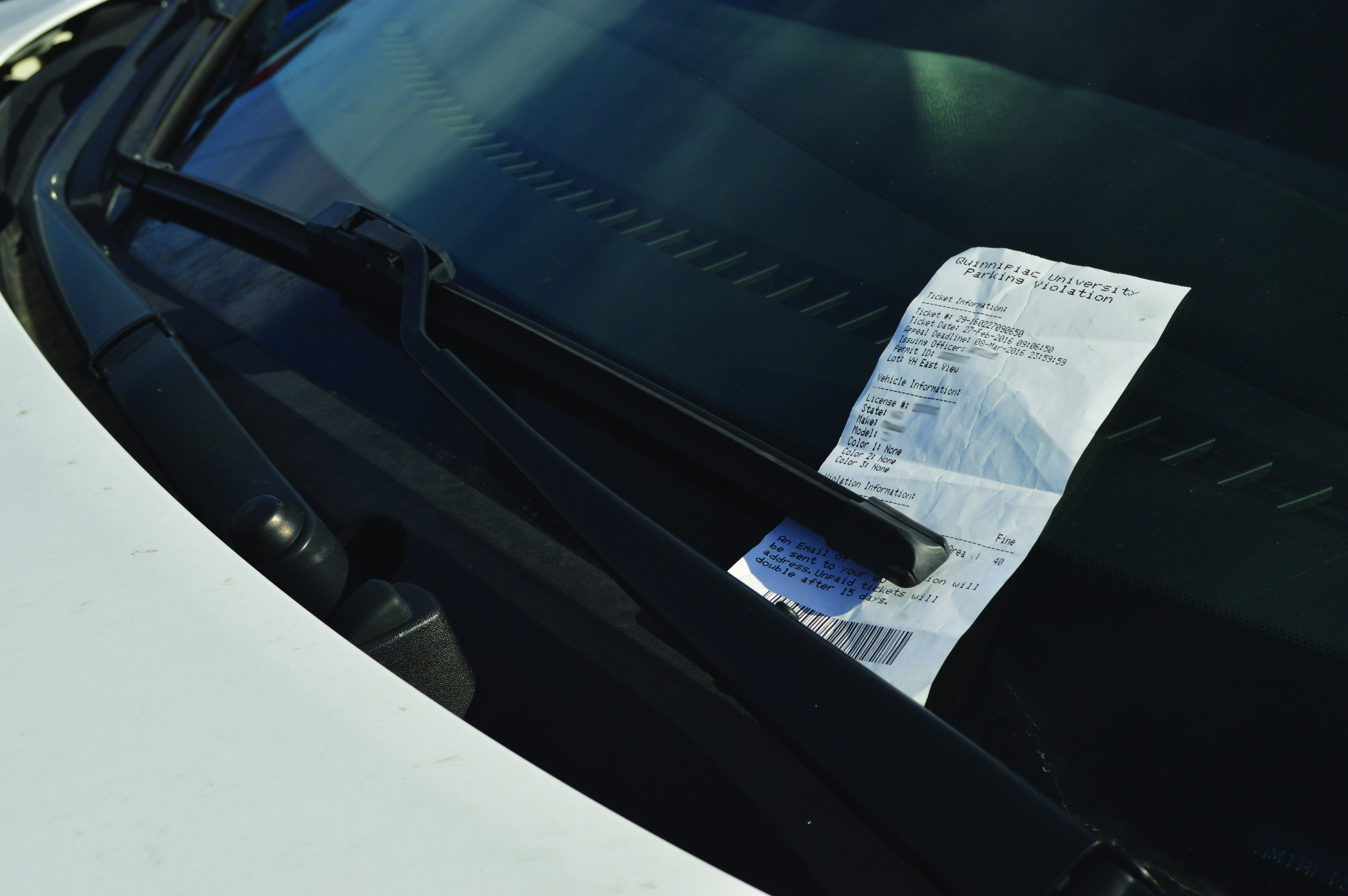 Public Safety tickets over 100 cars prior to Yale game