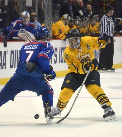 Men's ice hockey prepares for second Frozen Four