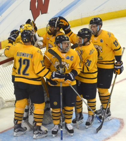 Column: Stop comparing current men's ice hockey to 2012-13 team