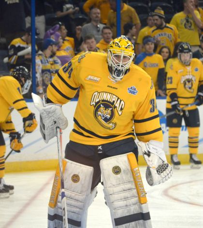 Men's ice hockey readies for national championship vs. North Dakota