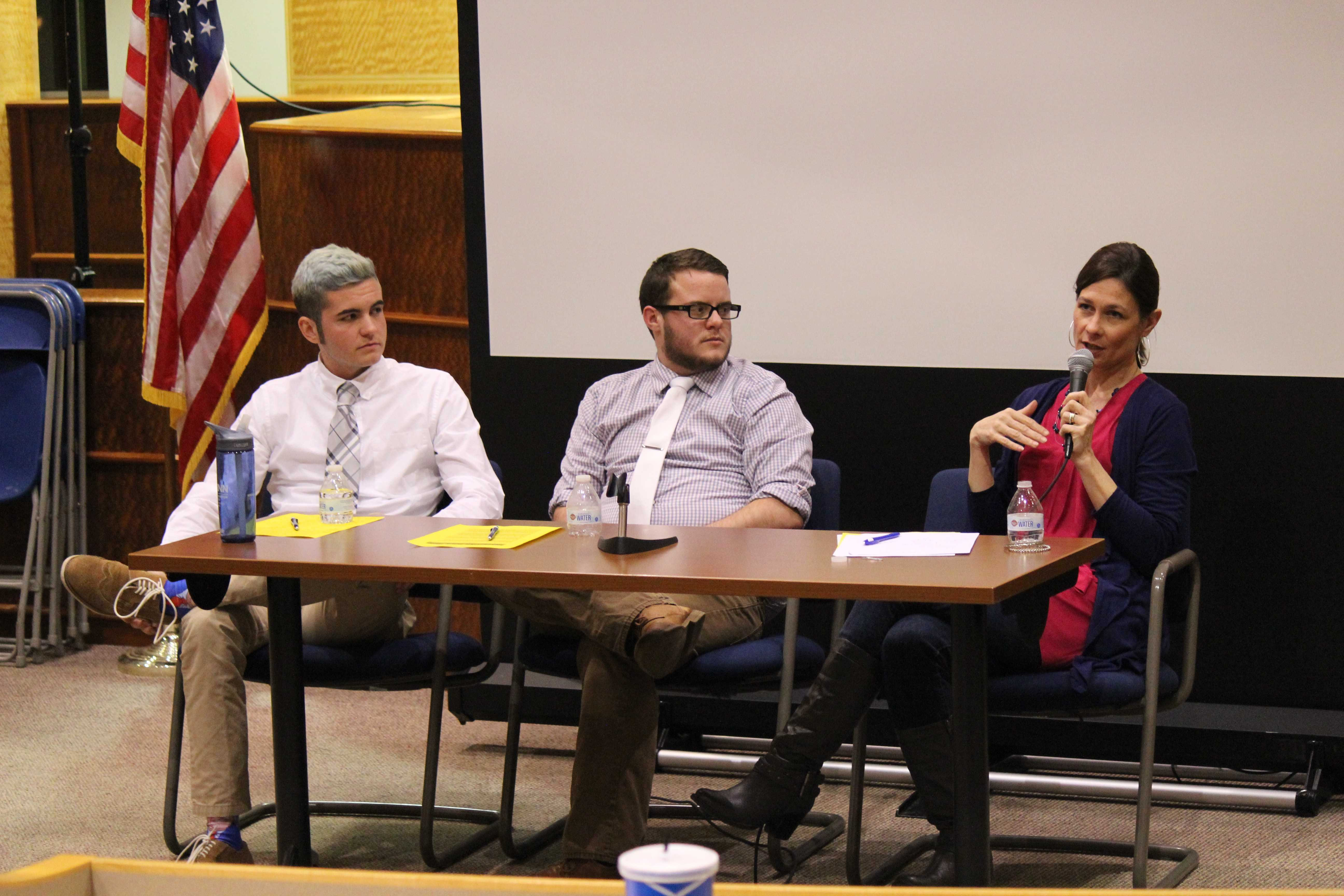 SLJ Club hosts discussion about the transgender community