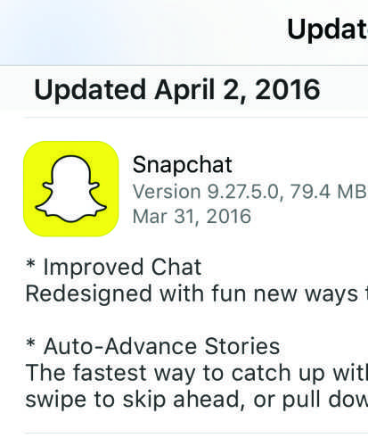 Wreck: Snapchat update gives me trust issue
