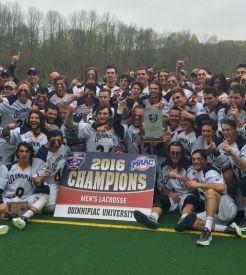 Men's lacrosse wins MAAC Championship